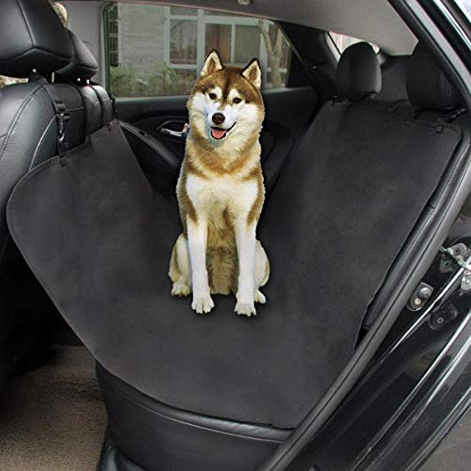 DDVUS  Waterproof Pet Cat Dog Car Rear Back Seat Cover Predector Mat Auto Travel Blanket Hammock Cushion Predector 135x135cm