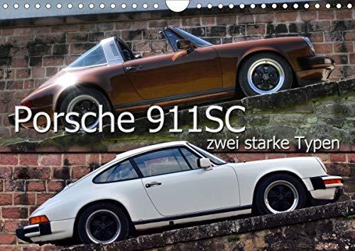 Price comparison product image Porsche 911SC - Zwei Starke Typen (Wandkalender 2021 DIN A4 quer)