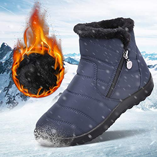 Gracosy Warm Snow Boots