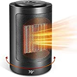 2020 New Personal Oscillating Space Heater Electric Heater with Over-Heat & Tilt Protection