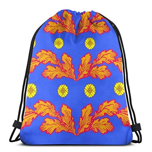 Yuanmeiju Tropical Fish Batik Bolsa con cordón Sports Fitness Bag Travel Bag Gift Bag