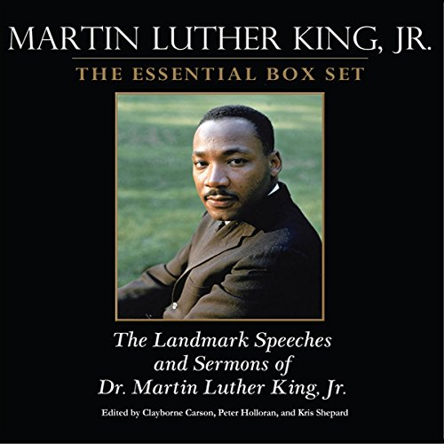Martin Luther King audiobook cover art