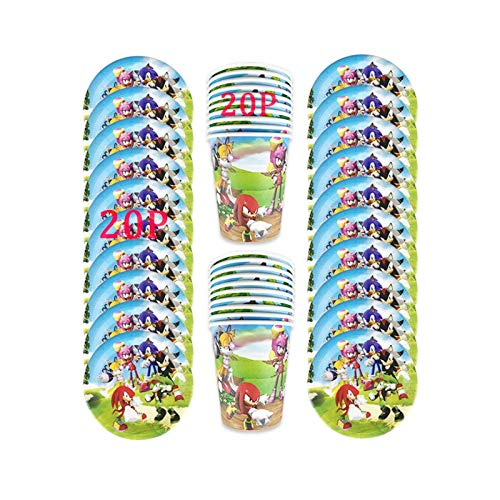 JSJJARF Balloon 40/80/81/100PCS Theme Baby Shower Party Decoration Birthday Sets Banner Straw bag Cup Plate Tablecloth Supplies For Kids (Color : 40pc)