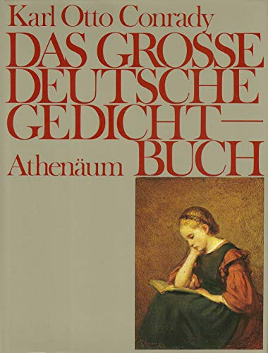 Das große deutsche Gedichtbuch.