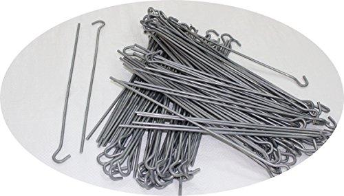 Jeha 40 Stück Zeltnagel 30 cm Zeltnagel Zeltnägel Erdnagel