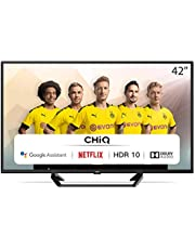 CHiQ L42G6F - 42 inch (105cm) Android TV-Smart TV - 2K FHD(1920 * 1080) - HDR10 - Dolby audio - Netflix - Youtube