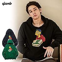 (グラム)glamb Pizza today hoodie gb0420-cs01 Green L
