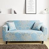 Funda de sofá elástica elástica, Funda de sofá Ultrafina Ajustada para Sala de Estar, Funda de sofá Profunda, Funda para Silla A26, 3 plazas