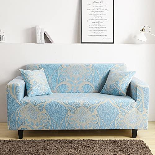 Funda de sofá elástica elástica, Funda de sofá Ultrafina Ajustada para Sala de Estar, Funda de sofá Profunda, Funda para Silla A26, 1 Plaza