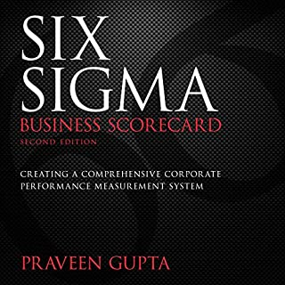 Six Sigma Business Scorecard, Second Edition audiobook cover art
