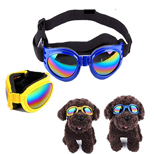 (65% OFF) 2 Pack Dog Sunglasses Goggles $5.95 – Coupon Code
