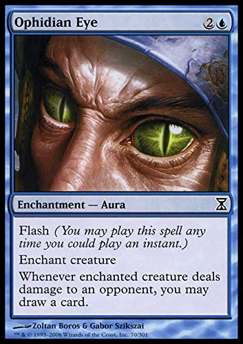 Magic The Gathering - Ophidian Eye - Time Spiral