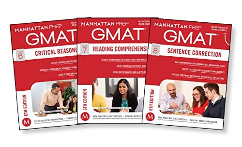 GMAT Verbal Strategy Guide Set (Manhattan Prep GMAT Strategy Guides) by Manhattan Prep(2014-12-02)