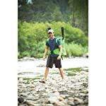 Sevylor Quikpak K5 1-Person Kayak , Gray 14 5-minute setup lets you spend more time on the water Easy-to-carry backpack system turns into the seat 24-gauge PVC construction is rugged for lake use