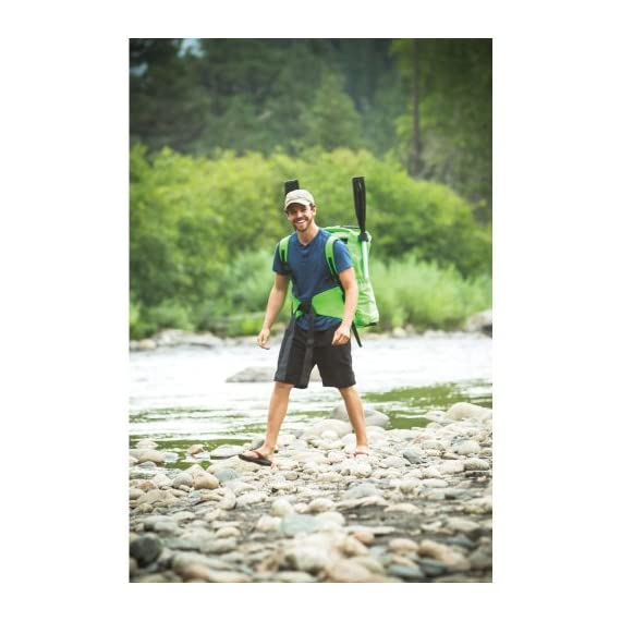 Sevylor Quikpak K5 1-Person Kayak , Gray 3 5-minute setup lets you spend more time on the water Easy-to-carry backpack system turns into the seat 24-gauge PVC construction is rugged for lake use