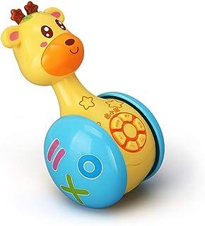 Anniston Kids Toys, Giraffe Shape Tumbler Preschool Story Telling Machine Kids Interactive Sing Toy Puzzles & Magic Cubes ...