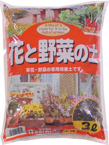 あかぎ園芸 花と野菜の土 3L