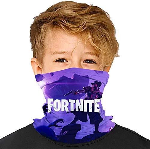 Fo-rt-Ni-te - Pañuelos para niños y niñas, con diseño de boca Ma-sks