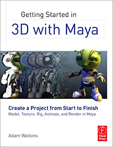 Getting Started in 3D with Maya: Create a Project from Start...