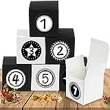 Bluelves Adventskalender zum Befüllen, Adventskalender Boxen, Adventskalender Kisten mit 24...