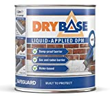 Drybase Liquid Damp Proof Membrane (1 Litre, White) - Liquid DPM Damp Proofing Paint