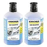 Kärcher RM 611 Shampoing pour Voiture 1000ml, Lot de 2 (2 x 1000ml)
