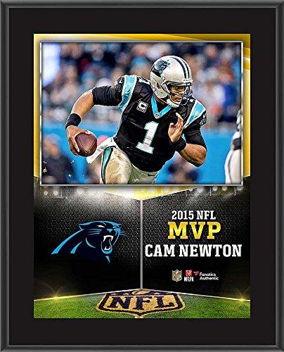 Cam Newton 2015 MVP Plaque