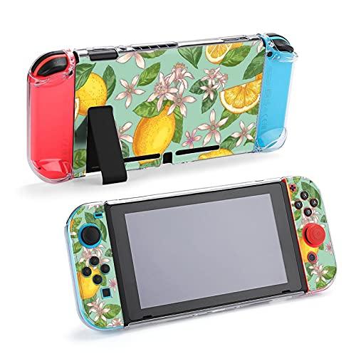 Funda protectora para Nintendo Switch, diseño de flor de limón a mano,...