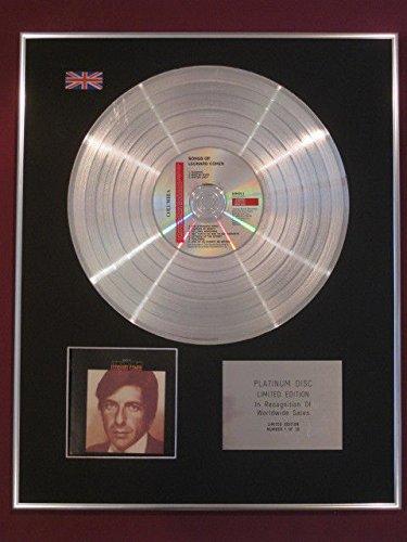 Leonard Cohen Platinum disc- Songs Of Leonard Cohen