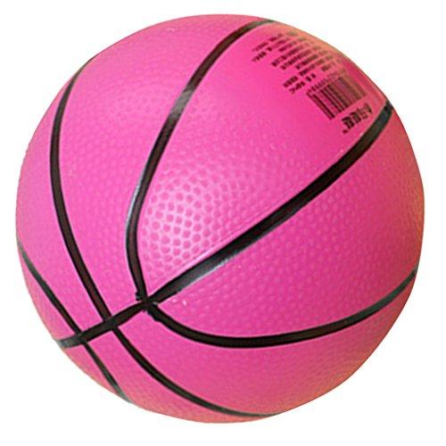 #N/A/a Pelota de Baloncesto Hinchable para Deportes Al Aire Libre, Juguete para Niños, Favor de Juego para Fiestas - Rosa Roja
