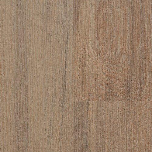 BODENMEISTER BM75001 Klick Laminat-Boden Holzoptik, Dielenoptik Teak 2-Stab, Hell-Braun, 1380 x 193 x 8 mm