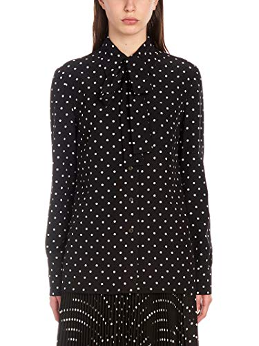 Prada Luxury Fashion Damen P499CS1911ULOF057Z Schwarz Baumwolle Hemd | Jahreszeit Outlet
