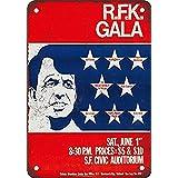 Robert F. Kennedy Celebrity Gala ティンサイン ポスター ン サイン プレート ブリキ看板 ホーム バーために