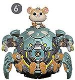 """Funko- Pop Vinilo: Overwatch S5: 6"""" Wrecking Ball Figura Coleccionable, Multicolor (37432)..."""