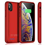 Battery Case for iPhone X/XS, TAYUZH 4000mAh Slim Portable Protective Charging...