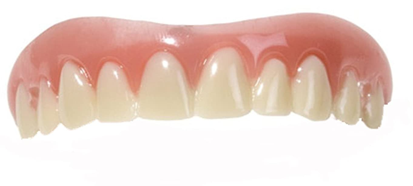ニッケルリングレットソーセージInstant Smile Teeth Upper Veneers (Small) by Billy-Bob