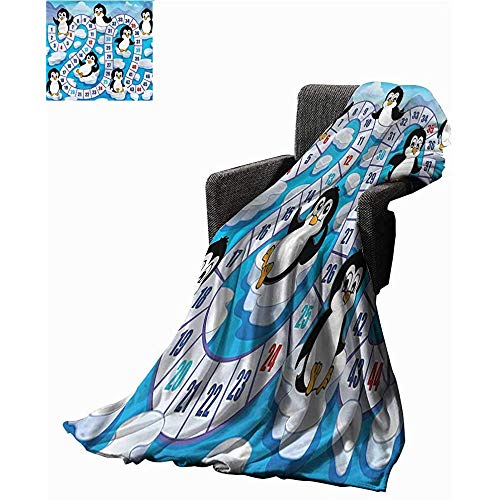 mallcentral-EU Blankets Brettspiel, Cute Penguins Antarctica Blankets