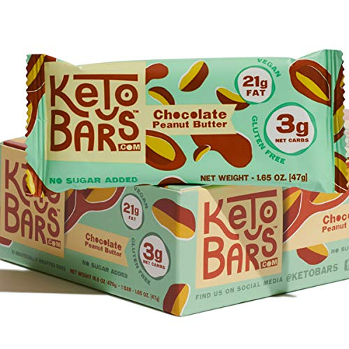 Keto Bars The Original Keto Snack Bar, Gourmet Simple Ingredients Low Carb,...