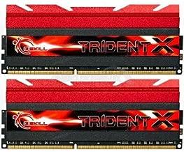 G.Skill F3-2400C10D-8GTX 8GB (2 x 4GB) DDR3 PC3-19200 2400MHz TridentX Series CL10 (10-12-12-31) Dual Channel kit