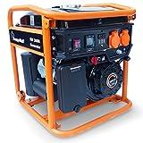 KnappWulf Inverter Generator Stromerzeuger KW3600 mit 1-Phase 230V Notstromaggregat geeignet für Sensible Endgeräte