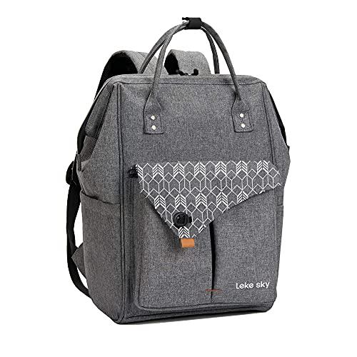 Lekesky Rucksack laptop Rucksack Damen Schulrucksack Stylischer Daypack für Universität/Reisen/Frauen