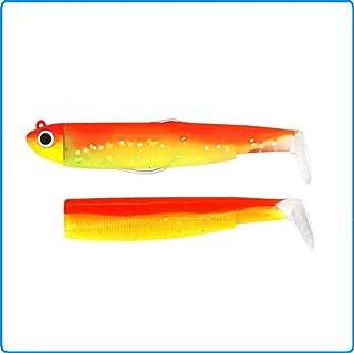 comprar comparacion Black Minnow Fiiish Lures Combo BM70 - Señuelo Blando de Vinilo para Pesca Spinning de Bass Lubina y Otras Especies - 1 Ca...
