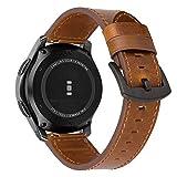 iBazal 22mm Bracelet Cuir Dégagement Rapide Compatible avec Samsung Gear S3 Frontier...