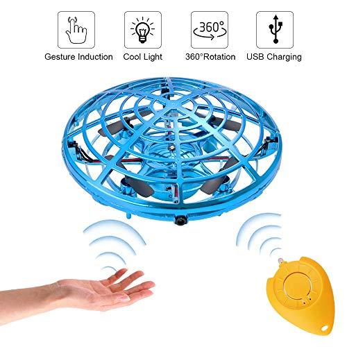 GOLDGE UFO Drohne Mini Drohne für Kinder Fliegende Spielzeug Fliegender Ball Handsteuerung