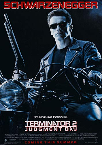 Poster Terminator 2 Judment Day by James Cameron Movie