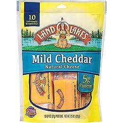 Land O Lakes Mild Cheddar Snack Cheese, 10 ct, 7.5 oz