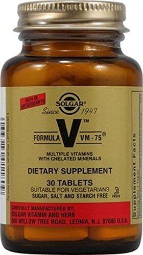 Formula Vm 75 30 comprimidos de Solgar
