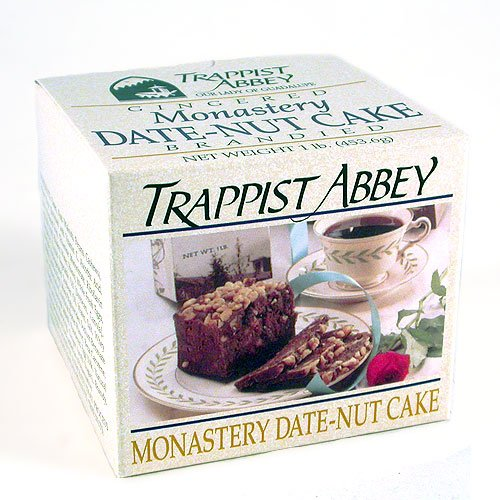 Date-Nut Cake: Trappist Abbey Monastery 1lb