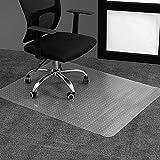 Office Clear Chair mat for Carpeted Floors, 36' x 48' Transparent Home Floor Protector Mat Chairmats, Heavy Duty Carpet Protector for Home, Flat Without Curling, Carpet Mats for Computer Desk