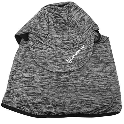 PRETYZOOM Polaina para El Cuello Pañuelo Pañuelo para La Cara Polaina Hombres Mujeres Polainas para El Cuello Protector de La Cara Completa Visor Cubierta Pañuelo para El Polvo Del Viento (Gris Claro)